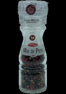 Confezione tappo macina mix di pepe